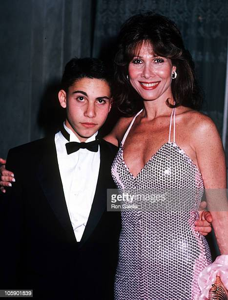 Michele Lee and son David Farentino during Knots Landing Wrap Party at Beverly Wilshire Hotel in Beverly Hills California United States