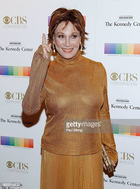 Michele Lee attends the 38th Annual Kennedy Center Honors Gala at John F Kennedy Center for the Performing Arts on December 6 2015 in Washington DC