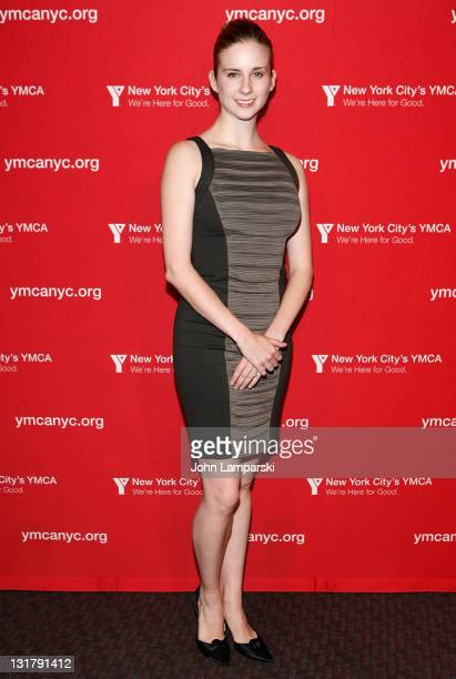 Michele Lee Wiles attends the YMCA of Greater New York's Arts & Letters auction and reception at Frederick P. Rose Hall, Jazz at Lincoln Center on...