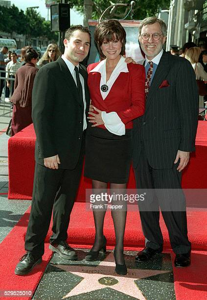 Michele Lee with husband Fred Rappoport and son David Farentino