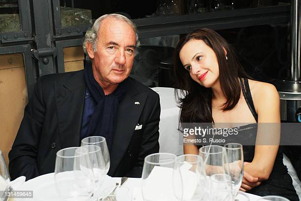 Michele Lo Foco and guest attend the Award Winners Dinner during the 6th International Rome Film Festivalon November 4 2011 in Rome Italy