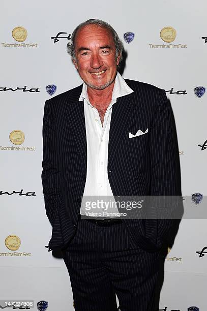 Michele Lo Foco attends at the Lancia Cafe during the 58th Taormina Film Fest on June 27 2012 in Taormina Italy