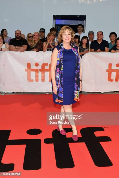 Michele Maheux attends the 'Jeremiah Terminator LeRoy' Premiere during 2018 Toronto International Film Festival at Roy Thomson Hall on September 15...