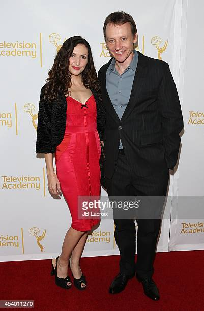 Michele Maika and Alec Berg attend the Television Academy's Producers Peer Group Celebrates the 66th Annual Emmy Awards at The London West Hollywood...