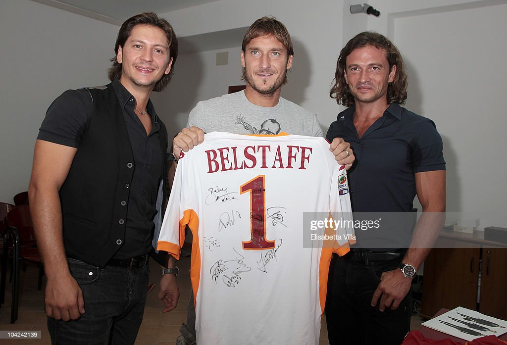 Belstaff Official Meeting With AS Roma