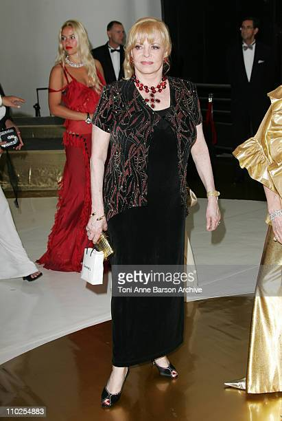 Michele Mercier during 2005 Monaco Red Cross Ball - Arrivals at Monte Carlo Sporting Club in Monte Carlo, Monaco.