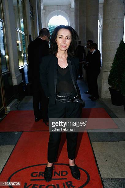 Michele Montagne attends the mytheresacom Haider Ackermann Dinner At Le Grand Vefour as part of Paris Fashion Week Haute Couture Fall/Winter...