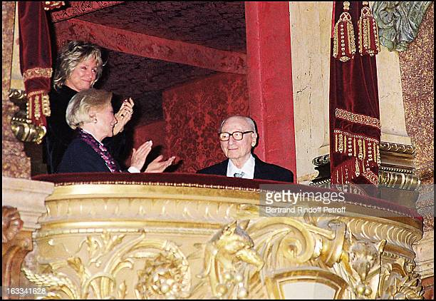 Michele Morgan 'Gerard Oury' film screening of 'La Grande Vadrouille' at the Garnier opera
