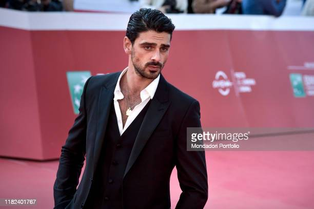 Michele Morrone at Rome Film Fest 2019 Rome October 18th 2019