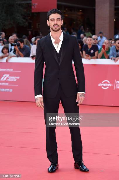 Michele Morrone attends the Bar Giuseppe red carpet during the 14th Rome Film Festival on October 18 2019 in Rome Italy