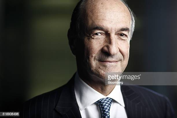 Michele Norsa managing director of Salvatore Ferragamo SpA poses for a photograph following a Bloomberg Television interview in London UK on Monday...