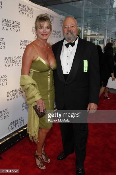Michele O'Hara and Pat Kuleto attend James Beard Foundation Awards 2010 at Lincoln Center on May 3 2010 in New York City