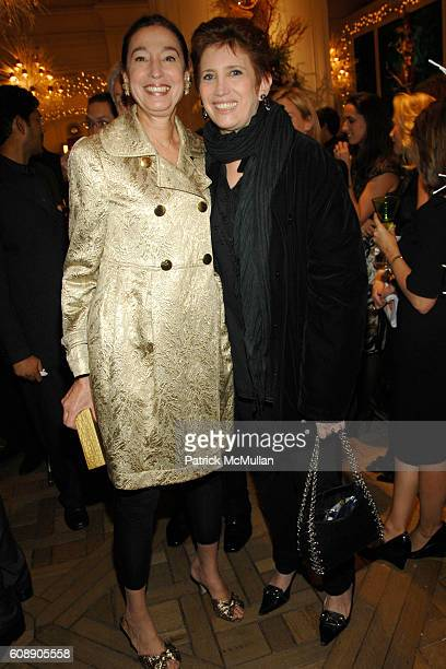 Michele Oka Doner and Beth Rudin DeWoody attend HOUSE GARDEN host reception for TONY DUQUETTE by WENDY GOODMAN and HUTTON WILKINSON at Bergdorf...