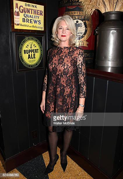 Michele Pawk attending the opening Night Party for Playwrights Horizons' World Premiere Production of A Small Fire at Heartland Brewery in New York...