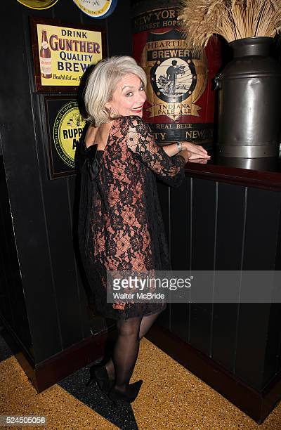 """Michele Pawk attending the opening Night Party for Playwrights Horizons' World Premiere Production of """"A Small Fire"""" at Heartland Brewery in New York..."""