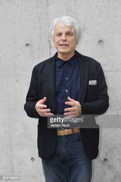 Michele Placido attends the Giorgio Armani show during Milan Fashion Week Fall/Winter 2018/19 on February 24 2018 in Milan Italy