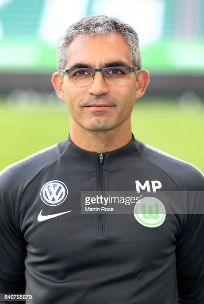 Michele Putaro of VfL Wolfsburg poses during the team presentation at on September 13 2017 in Wolfsburg Germany