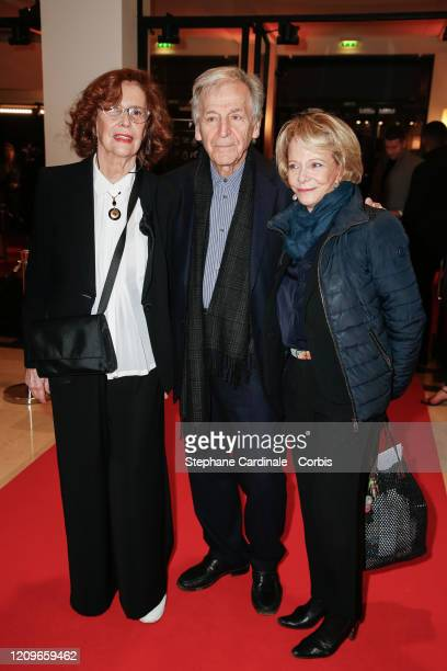 Michele RayGavras Costa Gavras and Frederique Bredin arrive at the Cesar Film Awards 2020 Ceremony At Salle Pleyel In Paris on February 28 2020 in...