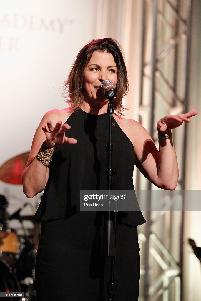 Michele Rhea Caplinger performs during the GRAMMY Atlanta Chapter Member Party at The Buckhead Theater on July 23, 2015 in Atlanta, Georgia.