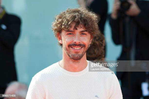 Michele Riondino from the movie 'Diva' walks the red carpet ahead of the 'Foxtrot' screening during the 74th Venice Film Festival at Sala Grande on...