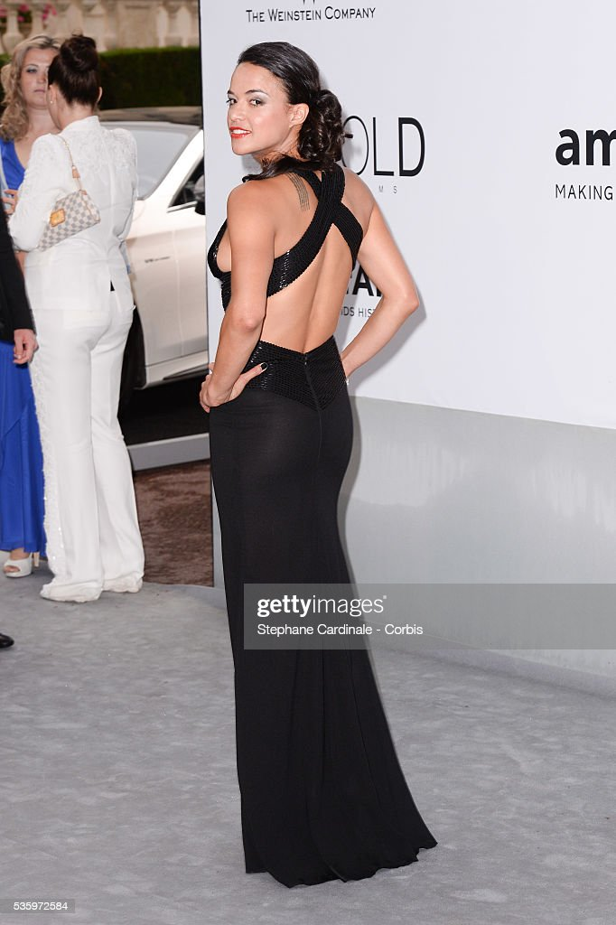 Michele Rodriguez at the amfAR's 21st Cinema Against AIDS Gala at Hotel du Cap-Eden-Roc during the 67th Cannes Film Festival