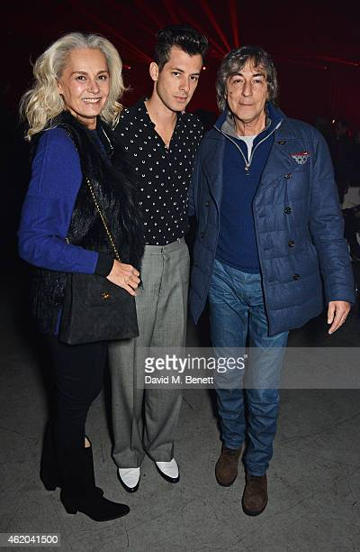Michele Ronson Mark Ronson and father Laurence Ronson attend as Mark Ronson hosts a party to celebrate the launch of his new album 'Uptown Special'...