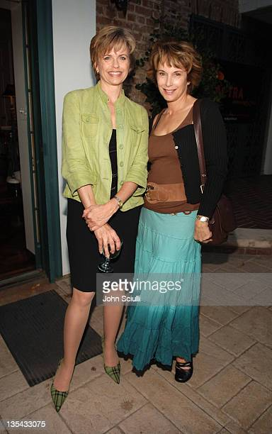 Michele Scarabelli and Riva Spier during ACTRA High Tea November 15 2005 at Private Residence in Los Angeles California United States