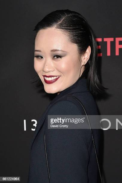 Michele Selene Ang attends the premiere of Netflix's '13 Reasons Why' at Paramount Pictures on March 30 2017 in Los Angeles California