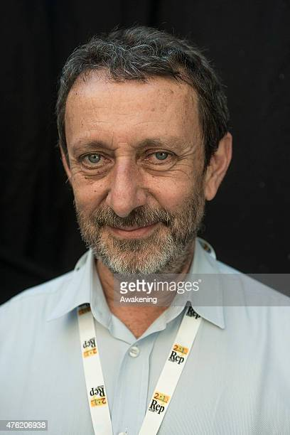 Michele Serra attends Day 3 of RepIdee on June 6 2015 in Genoa Italy RepIdee is a community meeting of the Repubblica newspaper with autors writers...