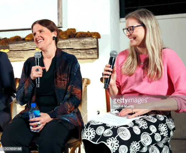 Michele Simon and Cynthia Sass speak as Elmhurst 1925 celebrates PlantBased Movement with Plant the Revolution panel discussion at Gracias Madre on...