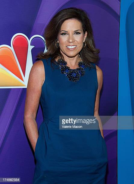 Michele Tafoya attends NBCUniversal's 2013 Summer TCA Tour at The Beverly Hilton Hotel on July 27 2013 in Beverly Hills California