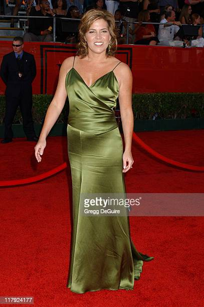 Michele Tafoya during 2004 ESPY Awards Arrivals at Kodak Theatre in Hollywood California United States