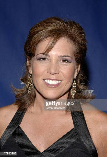 Michele Tafoya during 26th Annual Sports Emmy Awards Arrivals at Frederick P Rose Hall at Jazz at Lincoln Center in New York City New York United...
