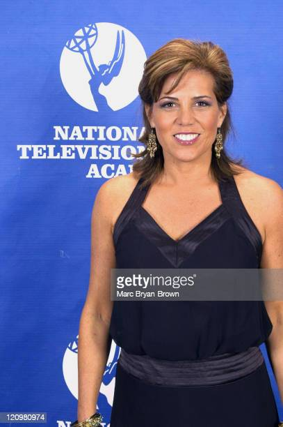 Michele Tafoya during 26th Annual Sports Emmy Awards Press Room at Frederick P Rose Hall at Jazz at Lincoln Center in New York City New York United...