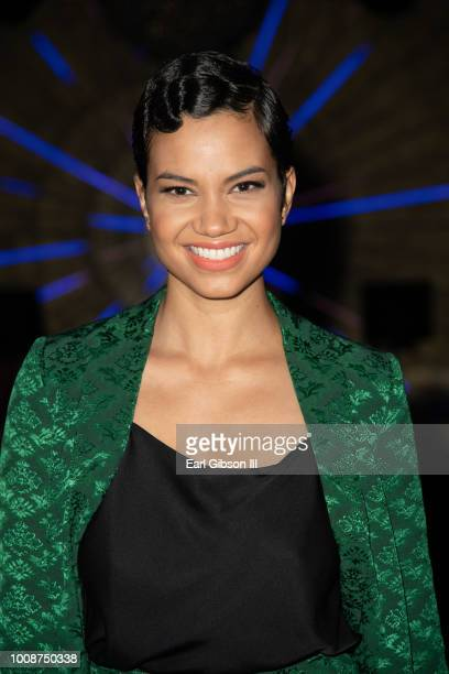 Michele Weaver attends Bossip Best Dressed List Event on July 31 2018 in Los Angeles California