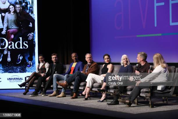 Michele Weaver Clive Standen J August Richards Michael O'Neill and Sarah Wayne Callies Joan Rater and Tony Phelan attend SCAD aTVfest 2020 Council Of...