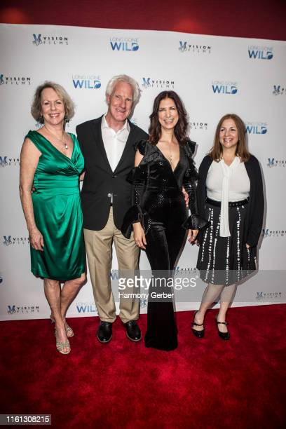 Michele Wolfe William Neal Rachel Weil and Lori Marino attend Vision Films' Los Angeles Special Screening Of Long Gone Wild at Laemmle's Monica Film...