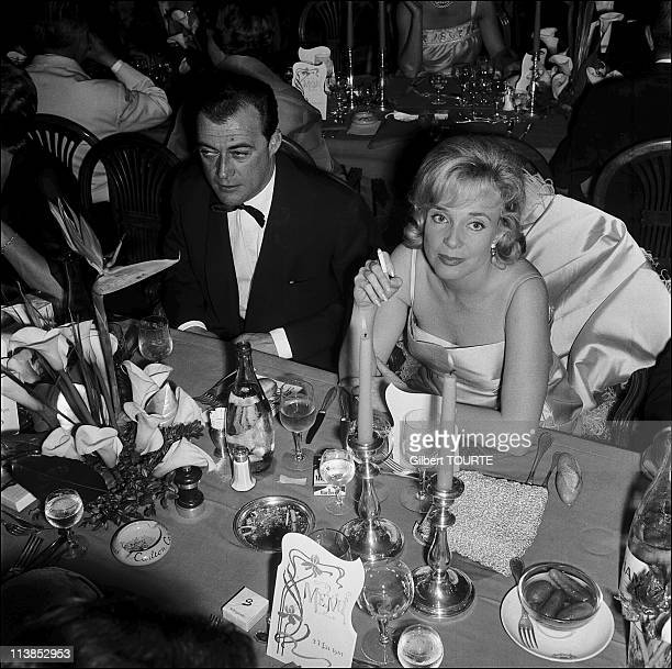 Micheline Presle at Cannes Film Festival in 1961