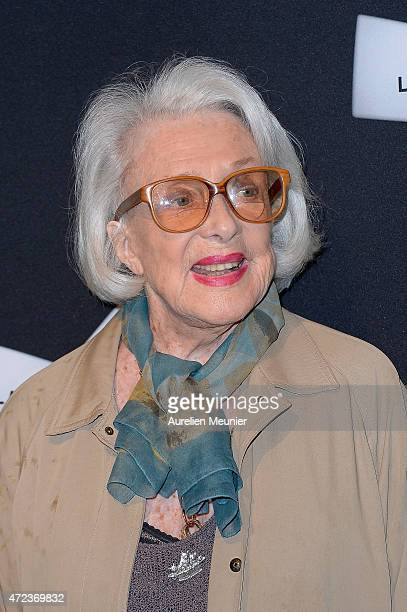 Micheline Presle attends the Philippe De Broca Retrospective at Cinematheque Francaise on May 6 2015 in Paris France