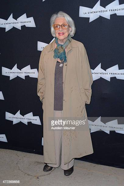 Micheline Presle attends the Philippe De Broca Retrospective at Cinematheque Francaise on May 6, 2015 in Paris, France.