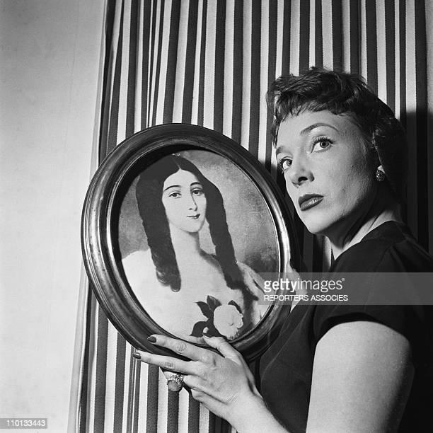 Micheline Presle in 1950.