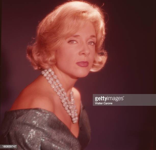 micheline presle poses in studio pictures getty images. Black Bedroom Furniture Sets. Home Design Ideas
