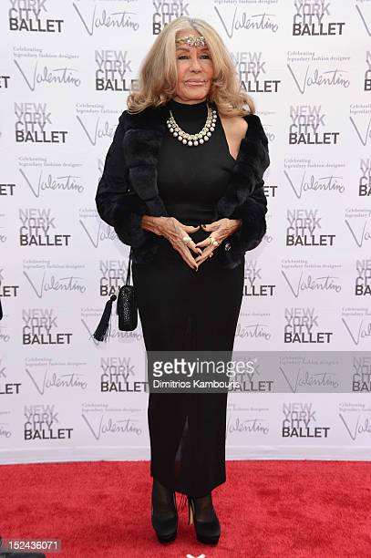 Micheline Roquebrune attends the 2012 New York City Ballet Fall Gala at the David H Koch Theater Lincoln Center on September 20 2012 in New York City