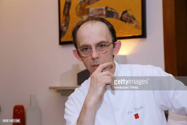 Michelinstar French chef Eric Boutté during fourth edition of the global event Gout de France at French embassy Chanakyapuri on March 21 2018 in New...