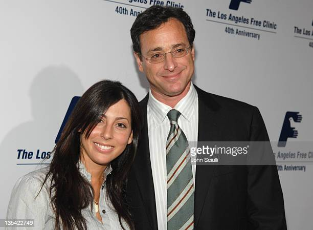 Michell Ghaltchi and Bob Saget during Los Angeles Free Clinic Annual Dinner Gala Honoring Paramount Pictures Corporation Chairman and CEO Brad Grey...