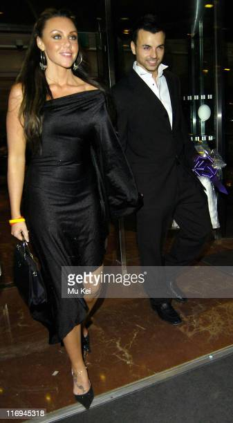 Michell Heaton and Andy Scott Lee during Celebrity Sightings at Hilton Park Lane in London November 12 2005 at Hilton Park Lane in London Great...
