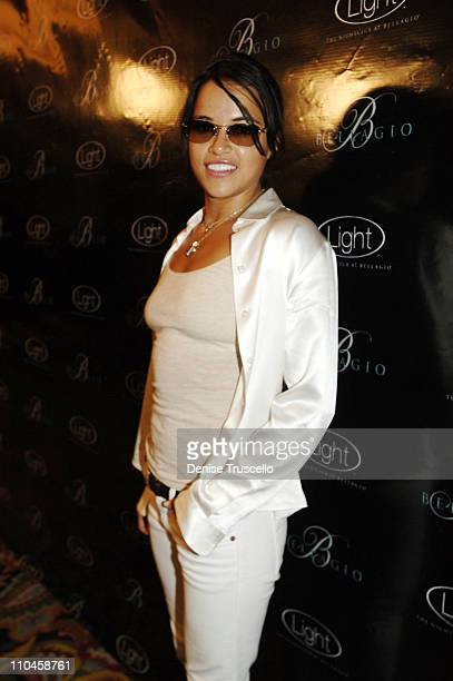 Michell Rodriguez during LIGHT Nightclub Four Year Anniversary VIP Red Carpet Reception at Caramel Lounge at The Bellagio Hotel and Casino Resort at...