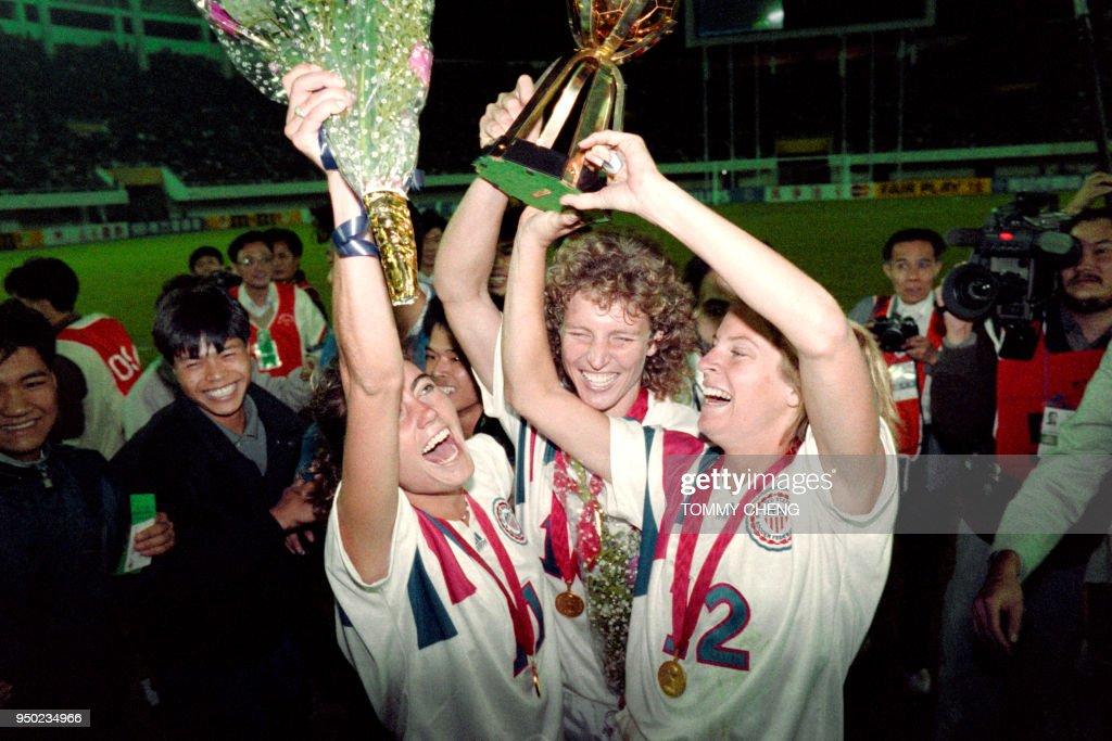 SOCCER-WOMEN'S WORLD CHAMPIONSHIP 1991 : News Photo