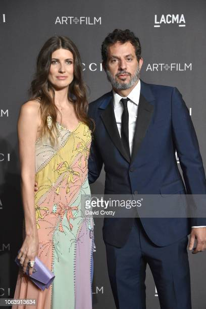 Michelle Alves and Guy Oseary attend LACMA Art Film Gala 2018 at Los Angeles County Museum of Art on November 3 2018 in Los Angeles CA