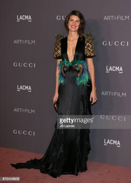 Michelle Alves attends the 2017 LACMA Art Film Gala Honoring Mark Bradford and George Lucas presented by Gucci at LACMA on November 4 2017 in Los...